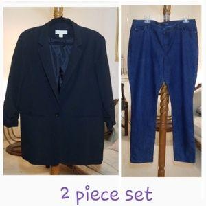 Michael Kors Blazer boyfriend Style and Jeans